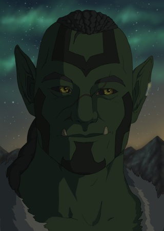 T'anos, brother of Vao Orc_by11