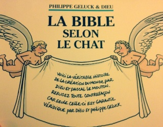 La Bible selon Le Chat de Philippe Geluck et Dieu  12615112