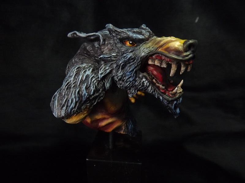 Buste de Wolfen Loup11