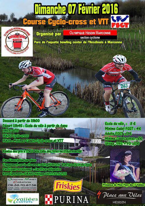 hesdin 07/02 cyclo-cross et vtt 12687910