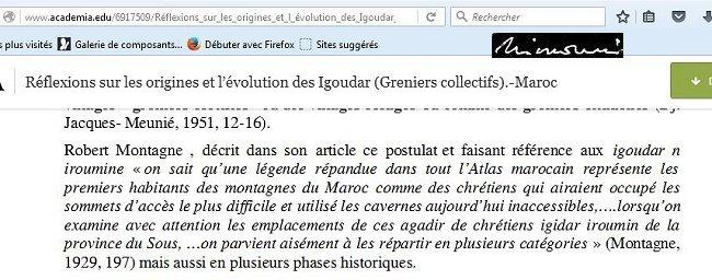 Amazigh - Incroyable , on ose diaboliser l'Amazigh et le dénuder de son patrimoine Mimoun11