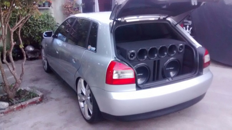 Audi a3 Prata , Aspirado , Manual , Teto. Carlos Zanin 20160116