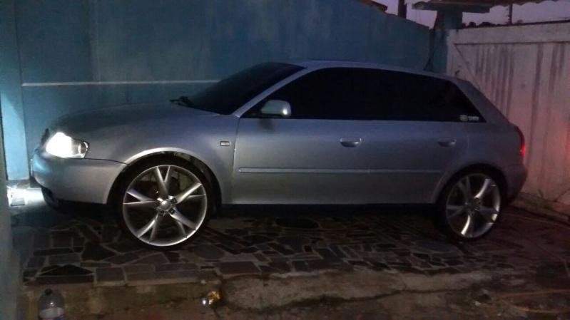 Audi a3 Prata , Aspirado , Manual , Teto. Carlos Zanin 20160118