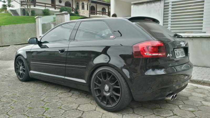 Audi a3 Sport 2011 Preto 2.0T 290CV . Daniel ! 20160124