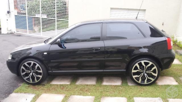 Audi a3 Preto 1.8T Automático. Wilson 20160146