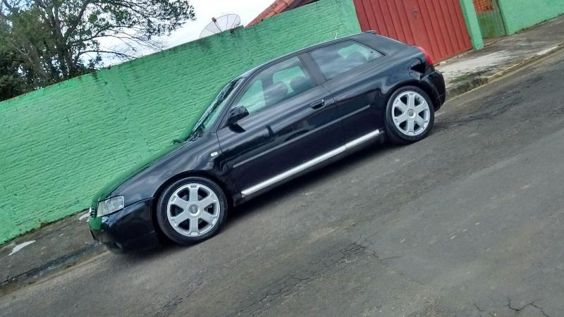 Audi a3 Preto com ups de S3 Irado 300CV ! Diego Martins 20160153