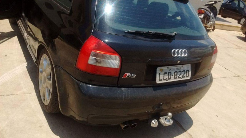 Audi a3 Preto com ups de S3 Irado 300CV ! Diego Martins 20160155