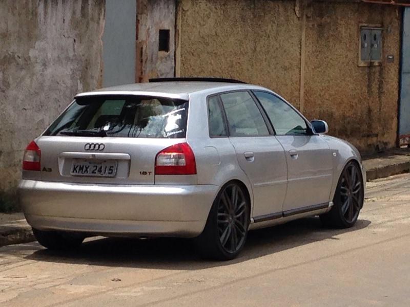 Audi a3 Prata 180cv manual , grade preta , mascara negra. Rafael Mendes 20160158
