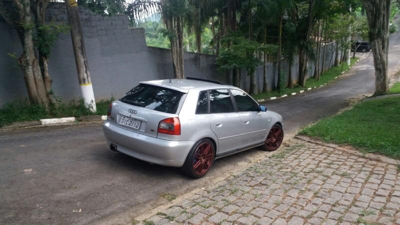 Audi a3 Prata Guilherme. Peças Audi Ghe hahaha ! 20160162