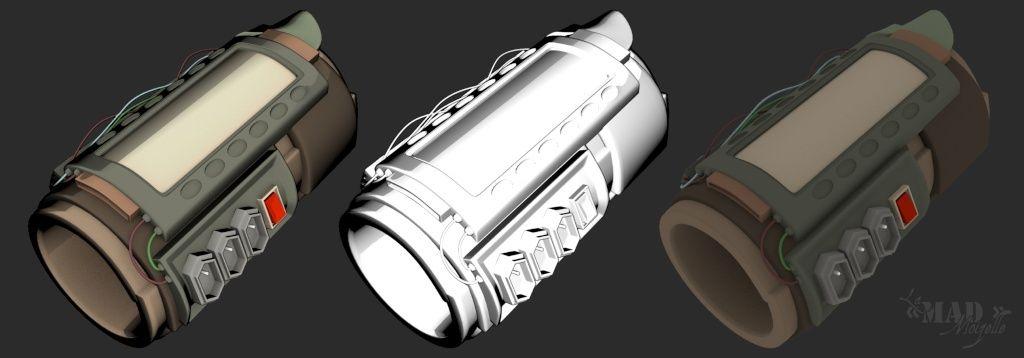 [Fan-Art 3D] Le Castabot, ça c'est un bon petit ! + Machine temporelle Fugitr10