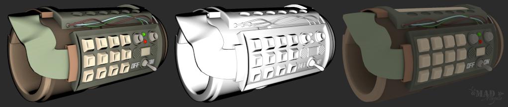 [Fan-Art 3D] Le Castabot, ça c'est un bon petit ! + Machine temporelle Fugitr14
