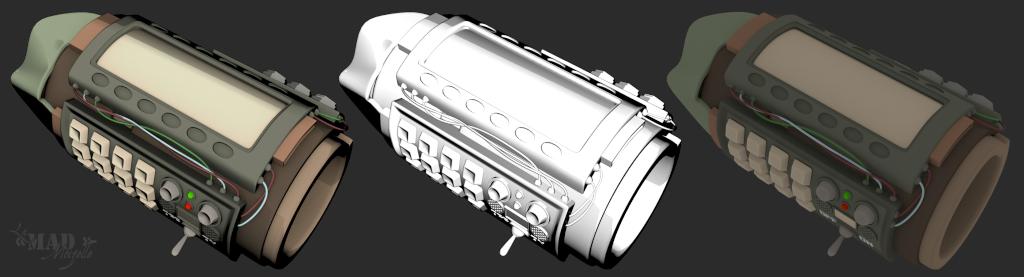 [Fan-Art 3D] Le Castabot, ça c'est un bon petit ! + Machine temporelle Fugitr15