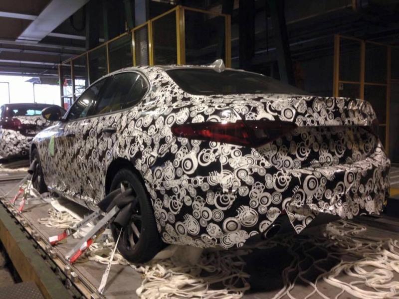 2015 - [Alfa Romeo] Giulia [Tipo 952] - Page 3 12669610