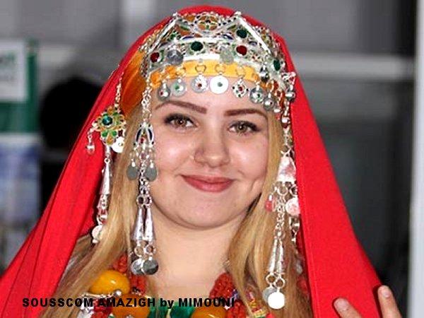 Miss reine Amazigh Chleuh 2016 est une Soussia d'Agadir Miss_a10