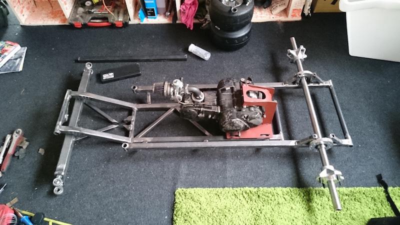 LITTLE B' - David Brown bike engined mini tractor Atltf110