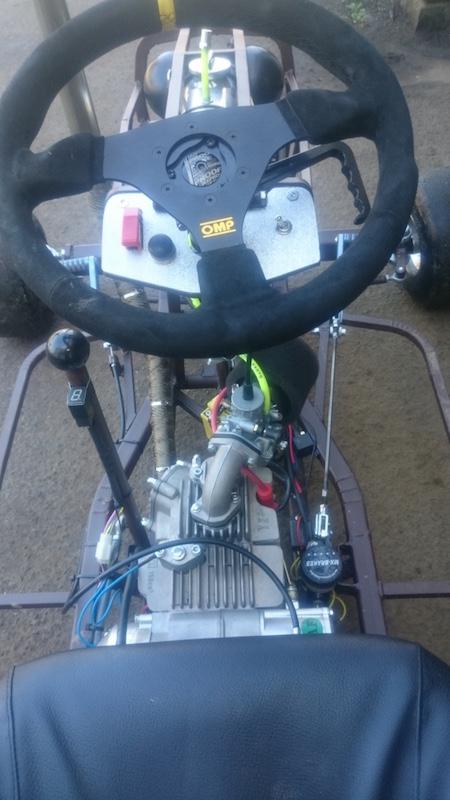 LITTLE B' - David Brown bike engined mini tractor Atltf114