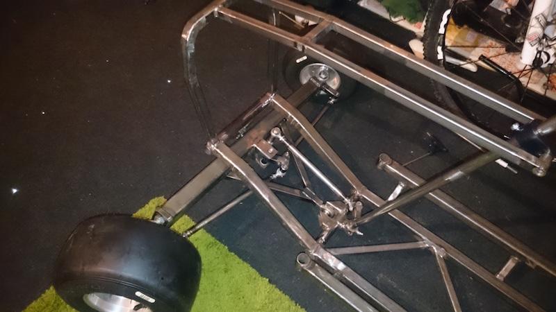 LITTLE B' - David Brown bike engined mini tractor Atltf310