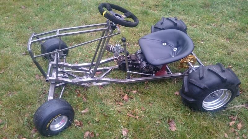 LITTLE B' - David Brown bike engined mini tractor Atltf510