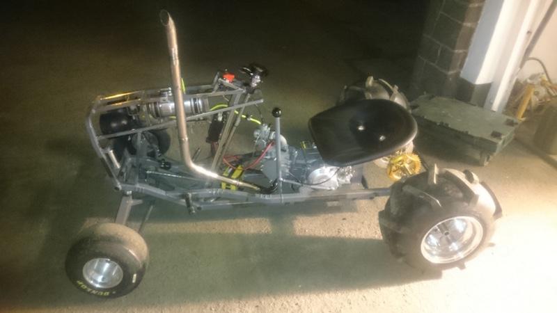 LITTLE B' - David Brown bike engined mini tractor Atltf610