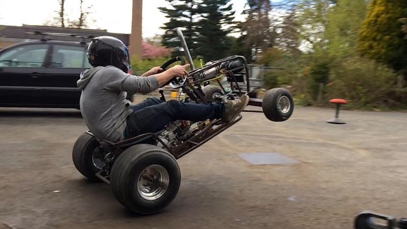 LITTLE B' - David Brown bike engined mini tractor Atltf_12