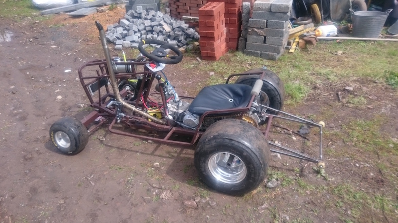 LITTLE B' - David Brown bike engined mini tractor Atltf_13