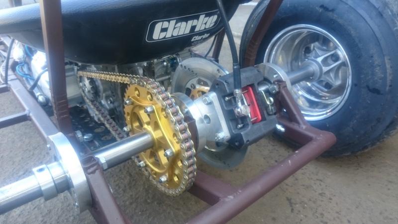 LITTLE B' - David Brown bike engined mini tractor Atlttf10