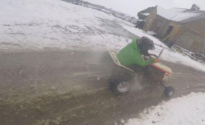 LITTLE B' - David Brown bike engined mini tractor Screen10
