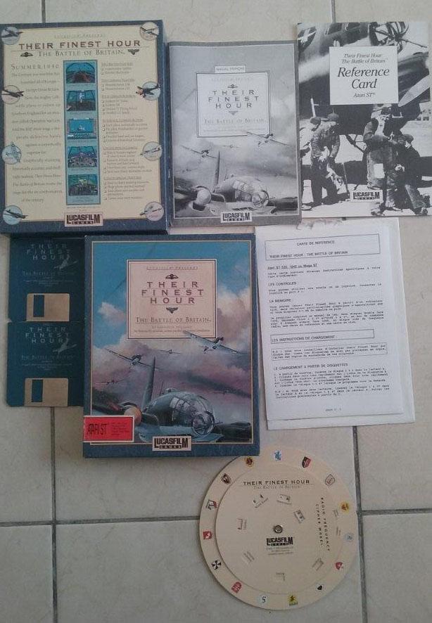 [Estimation] Collection de jeux pour Atari ST Finest10