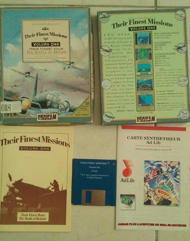 [Estimation] Collection de jeux pour Atari ST Finest13