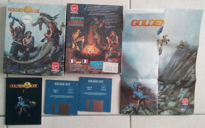 [Estimation] Collection de jeux pour Atari ST Golden10