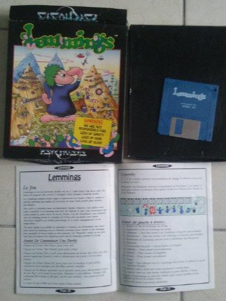 [Estimation] Collection de jeux pour Atari ST Lemmin10
