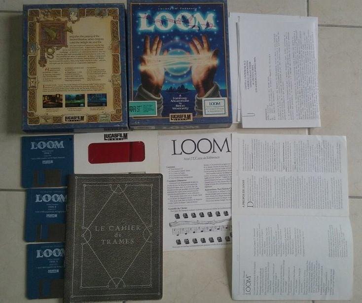 [Estimation] Collection de jeux pour Atari ST Loom-b10