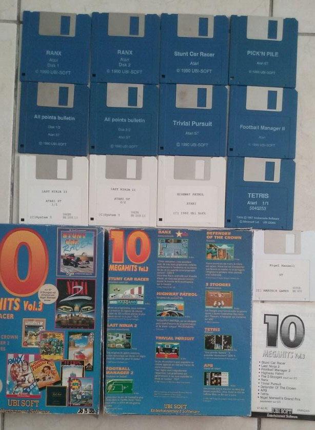 [Estimation] Collection de jeux pour Atari ST Megahi10