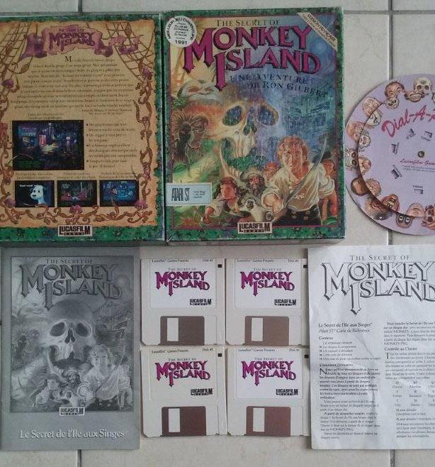 [Estimation] Collection de jeux pour Atari ST Monkey11
