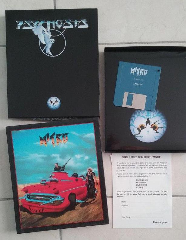 [Estimation] Collection de jeux pour Atari ST Nitro-10