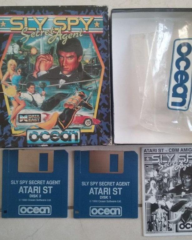 [Estimation] Collection de jeux pour Atari ST Slyspy10