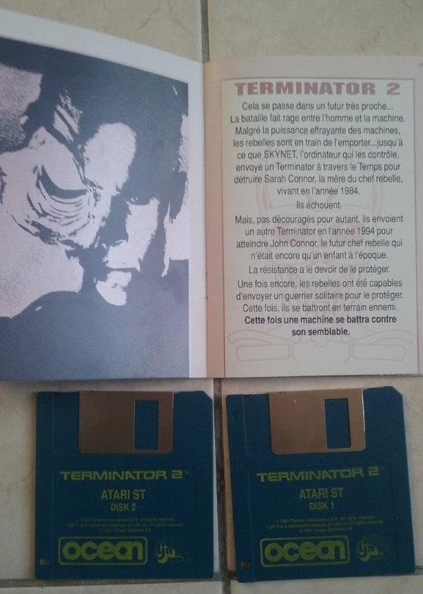 [Estimation] Collection de jeux pour Atari ST Termin10