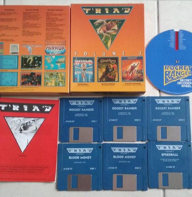 [Estimation] Collection de jeux pour Atari ST Triad-10