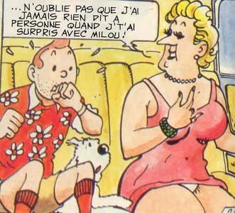 HUMOUR SEXY - 18  Tintin11
