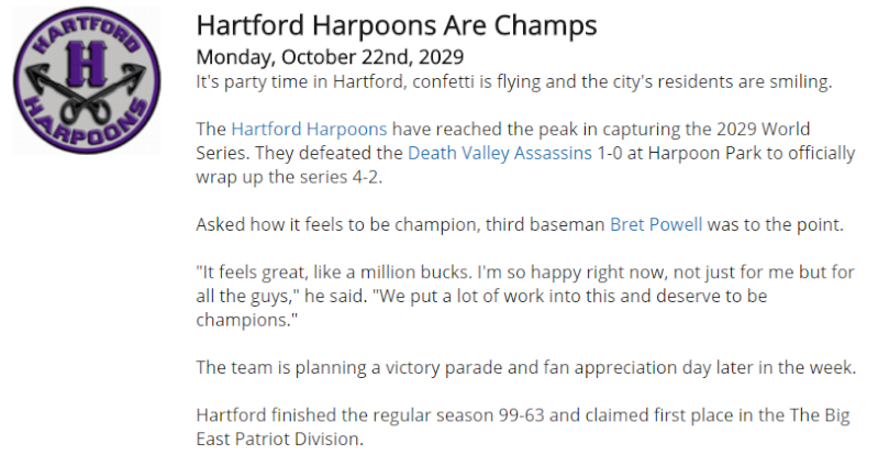Hartford are the 2029 Champs Champs10