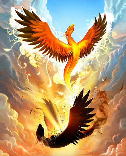 Eveil, Ascension, Kundalini, Vivre le Feu du coeur _phoen10