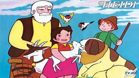 Poster le titre d'un dessin animé des 80 ou 90 et une photo Heidi10
