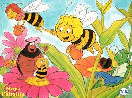 Poster le titre d'un dessin animé des 80 ou 90 et une photo Maya_l10