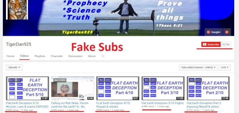 Flat Earth Shill Wall of Shame Fake10