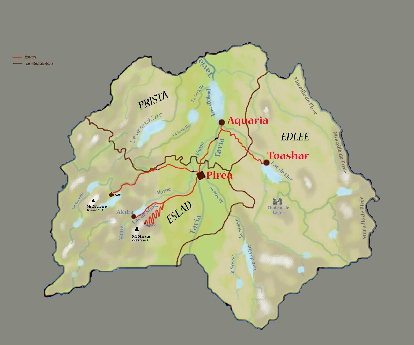 Géographie de Pirée. Carte_14