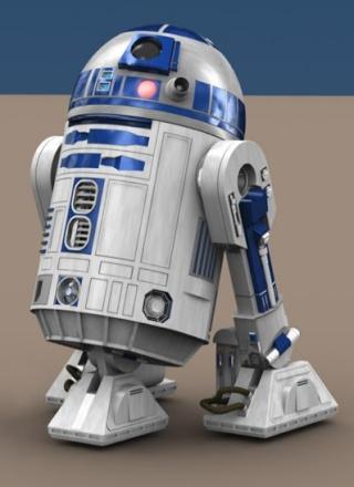 droïde R2 D2 R2d2-210