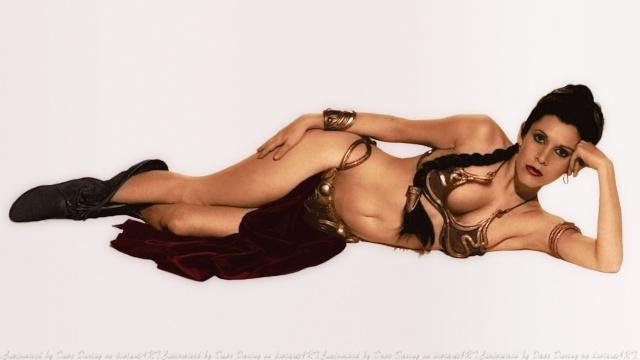 Images et dessins: Leia Organa Slave-10