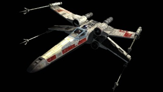 Chasseur X-Wing Star-w12