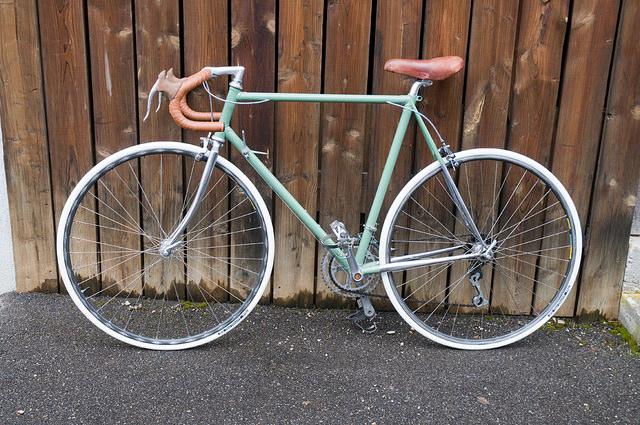 """Vélo course des années 80 """"vintagisé"""" 16011711"""