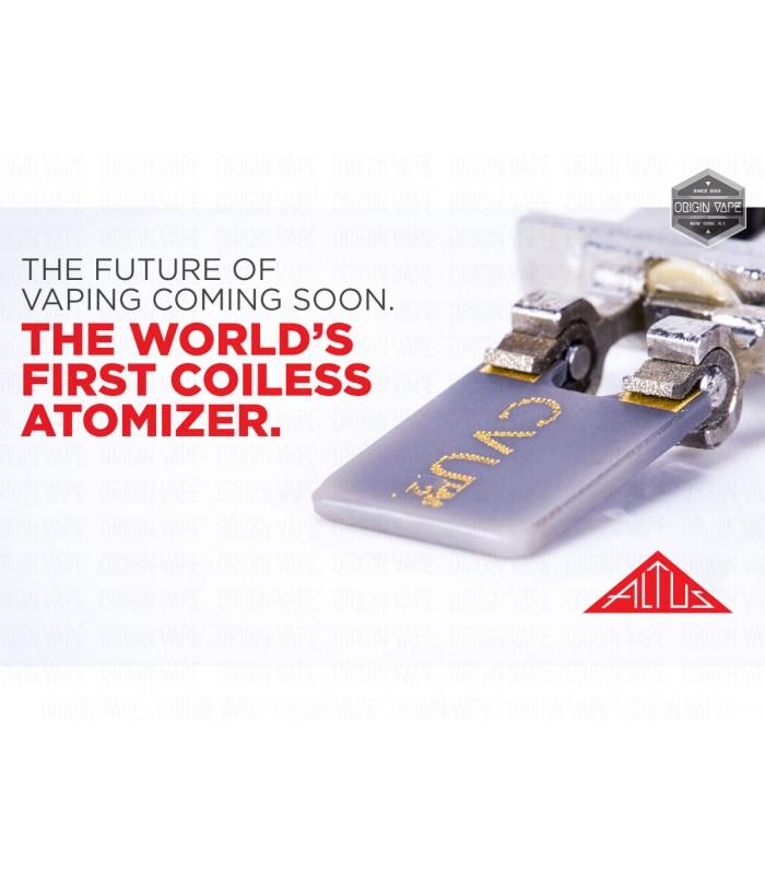 La revue de l'Altus Tank de GUO Vape : la révolution est en marche !  Altus-10